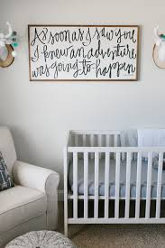vintage modern navy and gray nursery focal wall and nursery caleb s rustic neutral nursery reveal