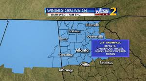 Crime Map Atlanta by Winter Storm Warning Issued For Much Of Metro Atlanta Wsb Tv
