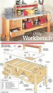 garage workbench furniture top models garage workbenchlans with