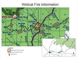 Wildfire Map Oregon by Central Or Fire Info Wildcat Fire Update 6 16 2017