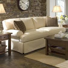 Klaussner Fabrics Sofa With Slipcover And Blend Down Cushions By Klaussner Wolf