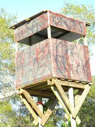 how to build a free standing deer hunting blind in the best