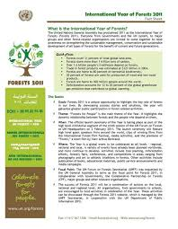 Event Fact Sheet Template C How To Introduce Year Of Forests And Logo At