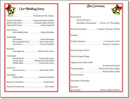 Wedding Reception Program Sample 10 Best Images Of Holiday Agenda Template Christmas Party Agenda