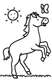 296 dessins de coloriage cheval à imprimer sur laguerche com page
