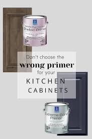 can i use bonding primer on cabinets how to paint your kitchen cabinets and get a smooth finish