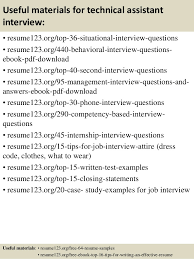 Technical Recruiter Sample Resume by Sample Resume Technical Profile