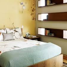 small bedroom makeovers classy ideas 13 floating shelves