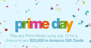 amazon black friday gift card amazon u0027s prime day black friday prices win up to 25 000 in