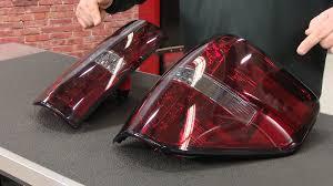 2013 f150 tail light bulb f 150 raptor tail light led smoked red pair 2009 2014 2010 2014