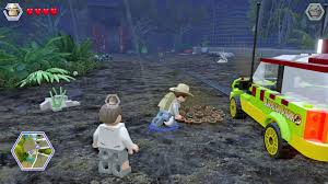 jurassic park car toy jurassic park hub areas lego jurassic world eguide prima games