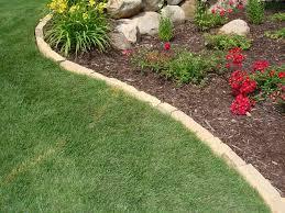 garden rock edging decor references