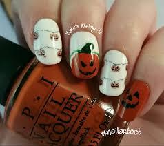 kate u0027s nailing it october nail art challenge day 19 pumpkins
