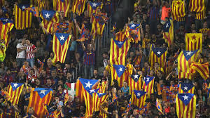 Barcelona Spain Flag Barcelona Fans Group Want Ends To Pro Catalan Flag Support