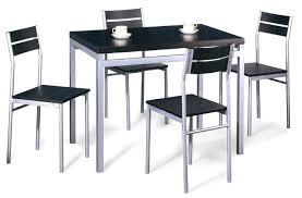 table de cuisine cdiscount table et chaise cdiscount 4 chaises 2 rallonges plato noir