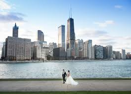 wedding photography chicago kevin amanda chicago navy pier garden wedding