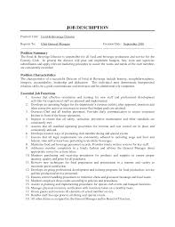 sample resume restaurant manager objectives luxury restaurant