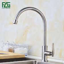 flg water filter taps kitchen faucets brushed nickel drinking