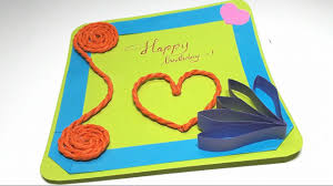 origami tutorial how to an easy birthday card youtube