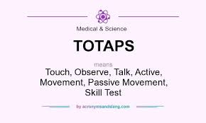 what does totaps definition of totaps totaps stands for