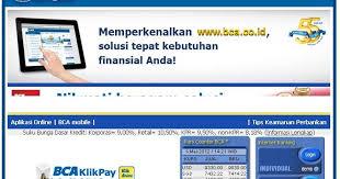 Klikbca Individual Klikbca Individual Login Indonesia 2014