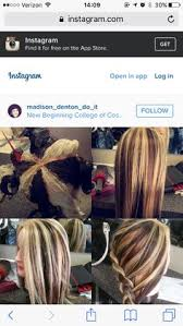 how to add colour chunks to hairstyles bold blonde chunks perfect for a client who wants change but
