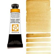 verona gold ochre 15ml tube u2013 daniel smith extra fine watercolor