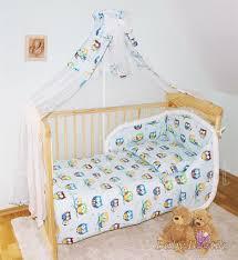 nursery cot bedding sets 14 piece baby bedding cot cot bed bumper set printed animals 100