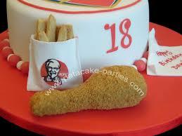 pat a cake parties arsenal kfc cake