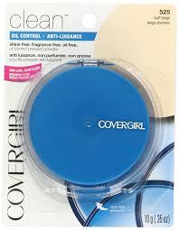 amazon com covergirl clean oil control pressed powder buff