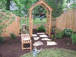 Arbor Ideas Backyard Simple Trellis Ideas How To Build A Trellis Arbor And Gate How