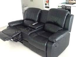 2 Seater Recliner Sofa Prices 2 Seater Recliner Sofa With Console Uk Valencia Leather Black