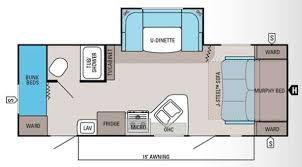 Travel Trailer Bunks Floor Plans Google Search Trailer - Travel trailer with bunk beds