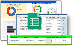 how to track your vacation days and holidays spreadsheet