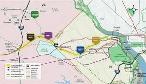 Iad Airport Map Traffic Study Shows Why I 66 Is A Mess The Washington Post