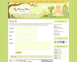 mommy blog wp theme