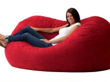 oversized bean bag lounger appealing on modern home decor ideas