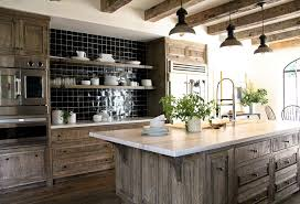 rustic kitchen with one wall u0026 limestone counters zillow digs