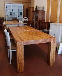 tavolo sala da pranzo gallery of tavoli e tavolini in ulivo massello tavoli costruire
