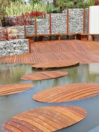 Backyard Decks Ideas Wooden Floating Path For Walkway To Unique Backyard Deck Cool