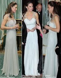 kate in amanda wakeley for 1st solo appearance u0026 contest winner