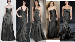 charcoal grey bridesmaid dresses bridesmaid dresses what does everyone think of these weddingbee