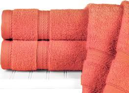 coral color bath towels towel