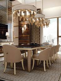 dining room accent wall decoration ideas on the white plate brown