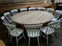 large round dining table for 12 12 14 seater large round chunky country dining table home interiors