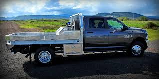 Dodge 3500 Pickup Truck - dodge 3500 with aluminum flatbed dual underbody boxes w new t