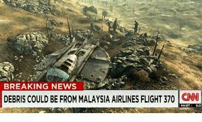 Malaysia Airlines Meme - breaking news debris could be from malaysia airlines flight 370 cnn