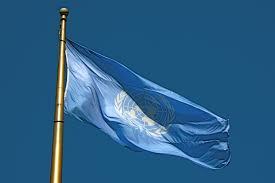 Garrison Flag Size Flag Of The United Nations Wikiwand