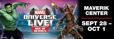 halloween express salt lake city marvel universe live age of heroes kids out and about salt lake