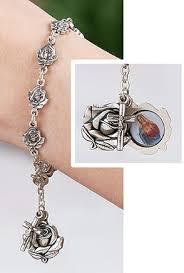 petal rosary petal rosary bracelet